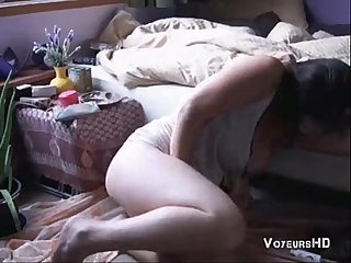 My friend masturbates in her room