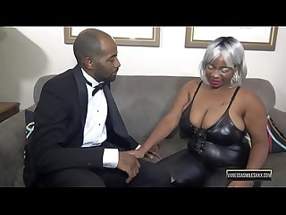 Busty Ebony Dick Suck and Hardcore Fuck