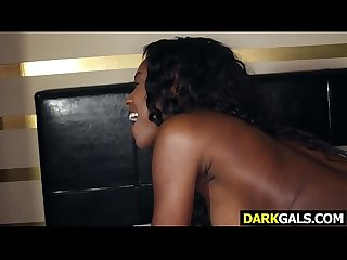 Ebony Sweety Beauty Armani Monae Gets Drilled