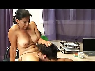 Hot fuck 135 sexy cougar milf younger lover office