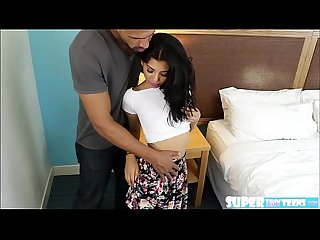 Hot cock sucker gina valentina gets squares a deal and gets hammered