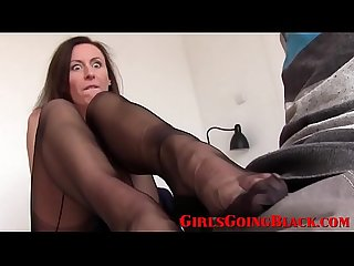 Lucky Married Cougar Finds Young Black Cock To Play With