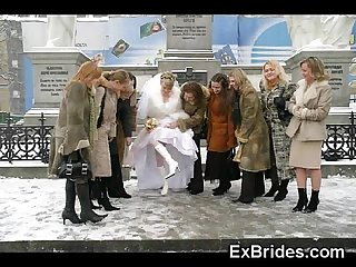 Real brides so naughty