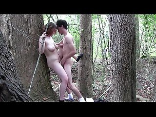 Young couple having sex in a forest more videos sweetgirlcam com