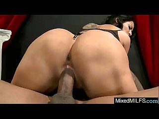 Superb Milf (kiara mia) Love Black Long Hard Meat In Her Holes mov-19