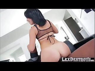 Beautiful latina kristina rose auditions and loves to fuck a bbc