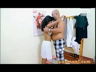Xxxmaal period com hot tenant Sex scene with owner