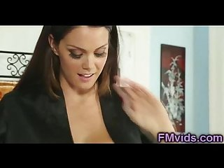 Busty alison tyler plays with cock after massage
