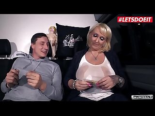 LETSDOEIT - #Kitty Wilder - Mature MILF From Germany Takes Cock Like A Pro On The Bus