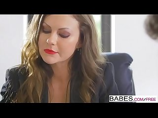 Babes office obsession tina Kay lay down the law