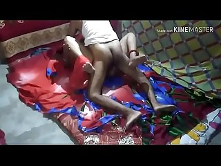 indian desi bhabhi fucking with cableman in her bedroom in night in absence her husband