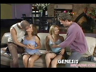 Hailey paige and alexia in group sex fucked
