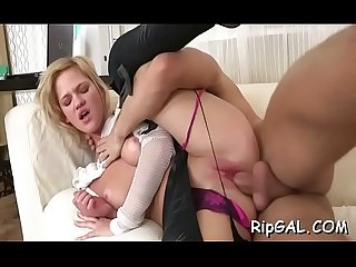 Breathtaking slut is feeling meaty orgasms from nice anal sex