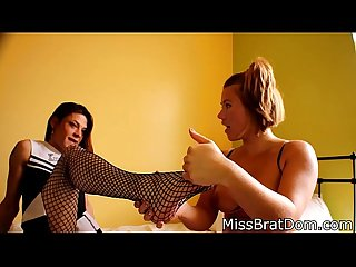 BP061-Trans Lesbian Feet Love - Footfetish Preview Starring Kimberly Gray