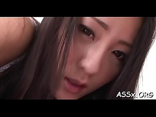 Sexy japanese chicks are serving their juicy anal tunnels