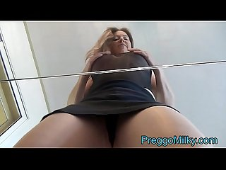 Lactating milf squirting breast milk