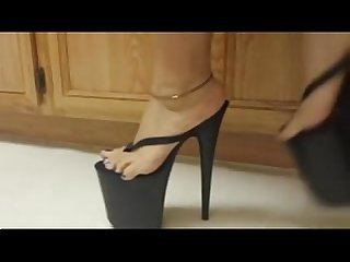 Asian feet in platforms tastycamz com