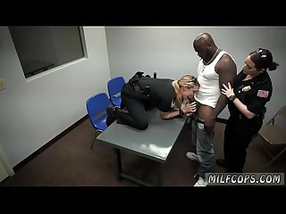 Brunette milf big boobs and hd porn threesome milf cops