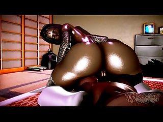 Fucking ebony milf amara scene 02