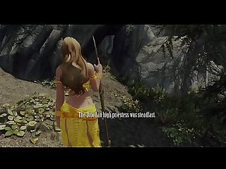Sexy priestess captured comma dominated comma and gangbanged by monsters skyrim 3d Hentai