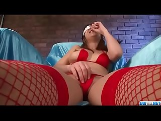 Dashing girl in red lingerie natsuki shino amazing toy porn more at javhd net