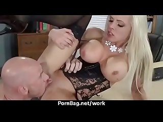 Busty cougar office sex 30