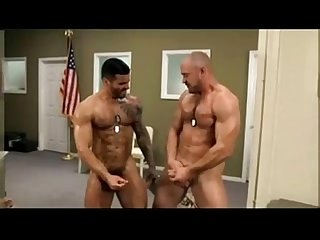 Muscle military gay