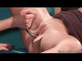 Hot milf gets horny getting her pussy