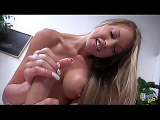 Shawna Lenee handjob and footjob