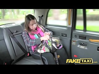 Fake taxi euro girl fucked with rock hard cock before facial