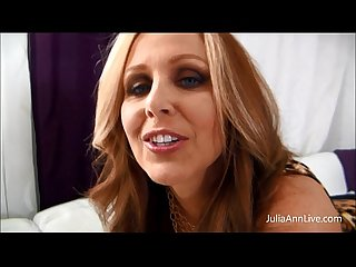 Julia ann cum all over my big tits
