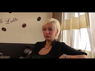Sexy blonde milf first porn more on casting couch ml