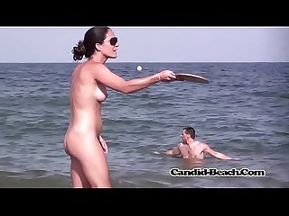 Candid beach Nudist Amateur Milfs 2