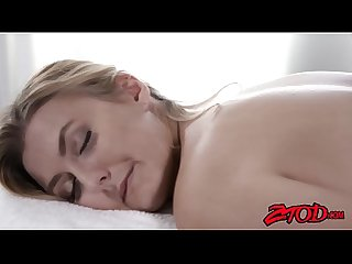 Sexy alexa grace wants something special from her masseur