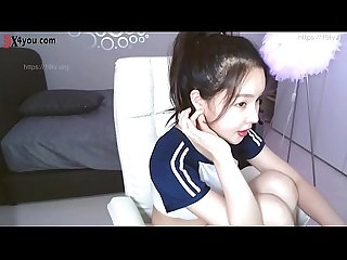 Very pretty korean BJ live stream full nude !