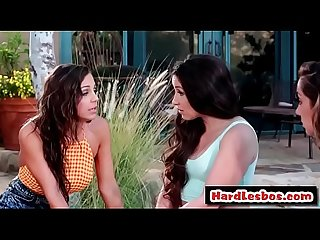 Sensual massage - Lesbian sex - Lola Foxx and Abigail Mac