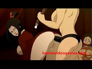 Azula and Katara Get Ass Fucked | Play the Game and Cum! hentaivideogames.com