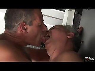 Gay daddies boss kiss fucking