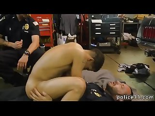 Cop gay porn movie male man men guy Get boinked by the police
