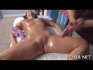 Nude girl massage