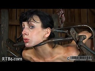 Harsh whipping for pleasant cutie