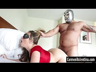 Cosplay slut Carmen valentina fucked hard