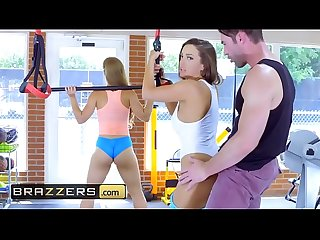 Big tits in sports lpar abigail mac comma nicole aniston comma charles dera rpar gym and juice brazz