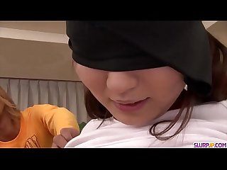 Ryo asaka gets cock in mouth and jizz on face more at slurpjp com
