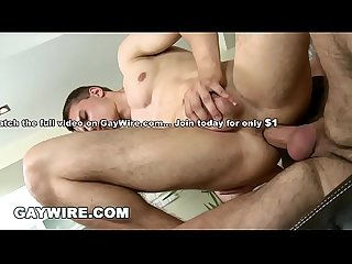 GAYWIRE - Hung and Horny Stud Wants Hardcore BAREBACK Gay Sex Now!