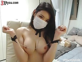 Very beautiful korean BJ ! Live stream with super body ! 220719 Part 1