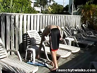 Cameron daniels sexy sunbathing session
