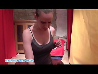 Blowjob by fabulous czech lapdancer