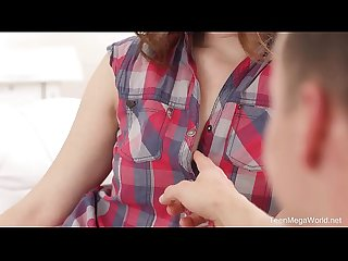 TeenMegaWorld.net - Sofy Torn - Checkers and doggy games