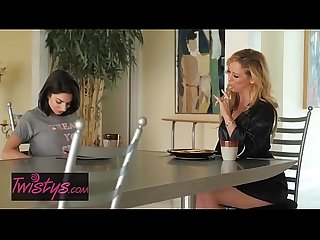 Mom Knows Best - (Cherie DeVille, Darcie Dolce) - Eat Your Breakfast - Twistys
